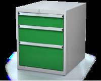 Kontejner pro dílenský stůl - 3 zásuvky