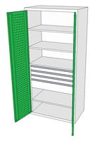 Dílenské skříně DSP 92 1_3x2_1x4_1