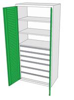 Dílenské skříně DSP 92 1_3x3_3x4