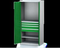 Dílenské skříně PROFI - Standardní program DSP 92 1 K04 B