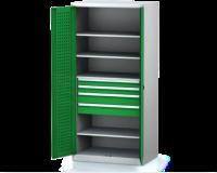 Dílenské skříně PROFI - Standardní program DSP 92 1 K05 B