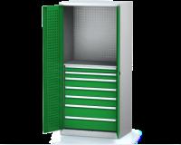 Dílenské skříně PROFI - Standardní program DSP 92 1 K06 B