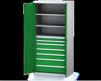 Dílenské skříně PROFI - Standardní program DSP 92 1 K07 B
