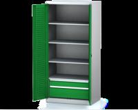 Dílenské skříně PROFI - Standardní program DSP 92 1 K08 B