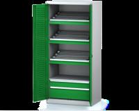 Dílenské skříně PROFI - Standardní program DSP 92 1 K09 C