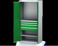 Dílenské skříně PROFI - Standardní program DSP 92 1 K12 B