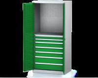 Dílenské skříně PROFI - Standardní program DSP 92 1 K13 B