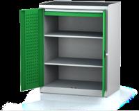 Dílenské skříně PROFI - Standardní program DSP 92 3 K01 B