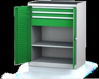 Dílenské skříně PROFI - Standardní program DSP 92 3 K02 B