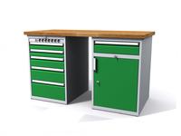 Dílenské stoly ALCERA® PROFI ALCERA P15 K12
