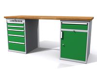 Dílenské stoly ALCERA® PROFI ALCERA P20 K12