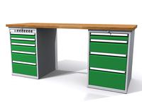 Dílenské stoly ALCERA® PROFI ALCERA_P20_5ZE_4Z