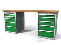 Dílenské stoly ALCERA® PROFI ALCERA_P20_5ZE_5Z