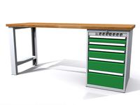 Dílenské stoly ALCERA® PROFI ALCERA_P20_PN_5ZE
