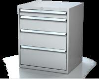 Dílenské zásuvkové skříně 17U - š 710 x h 600 mm DKP 3627 17U 4
