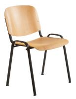 Dřevěná konferenční židle SN100187