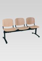 Dřevěná lavice do čekárny SN100279