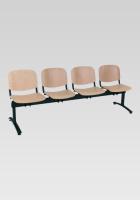 Dřevěná lavice do čekárny SN100280