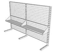 Nástavby dílenských stolů NAS_15_2P200