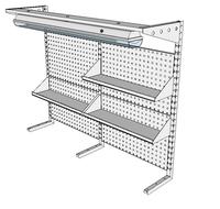 Nástavby dílenských stolů NAS_15_3P200_OT