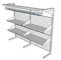 Nástavby dílenských stolů NAS_15_4P300_OT