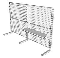 Nástavby dílenských stolů NAS_20_1P200