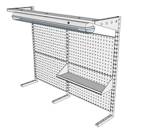 Nástavby dílenských stolů NAS_20_1P200_OT