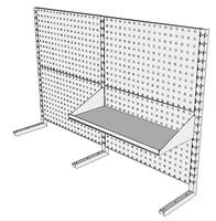 Nástavby dílenských stolů NAS_20_1P300
