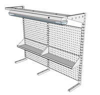 Nástavby dílenských stolů NAS_20_2P200_OT
