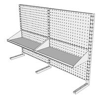 Nástavby dílenských stolů NAS_20_2P300