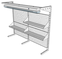 Nástavby dílenských stolů NAS_20_3P200_OT