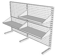 Nástavby dílenských stolů NAS_20_3P300