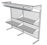 Nástavby dílenských stolů NAS_20_3P300_OT