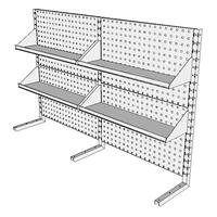 Nástavby dílenských stolů NAS_20_4P200