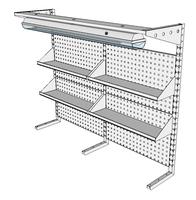 Nástavby dílenských stolů NAS_20_4P200_OT