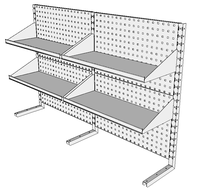 Nástavby dílenských stolů NAS_20_4P300