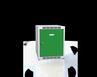 Nástavec na šatní skříňky, šířka / počet oddělení: 400 mm / 1