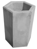 Odpadkový koš - beton-ocel MM800039