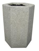 Odpadkový koš - beton-ocel MM800040