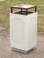 Odpadkový koš - beton-ocel MM800216