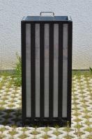 Odpadkový koš - ocel FRANKFURT_10