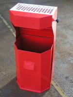 Odpadkový koš - ocel MM700173