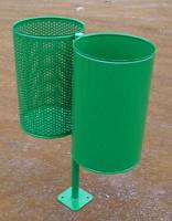 Odpadkový koš - ocel MM700175