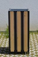 Odpadkový koš - ocel-dřevo EDINBURGH_10