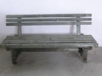 Parková lavička - dřevo MM700090