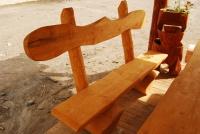 Parková lavička - dřevo MM700240