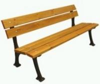 Parková lavička - litina-dřevo MM700212