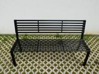 Parková lavička - ocel FRANKFURT_01