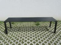 Parková lavička - ocel FRANKFURT_02
