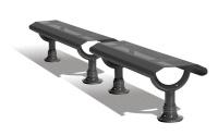 Parková lavička - ocel MM332616